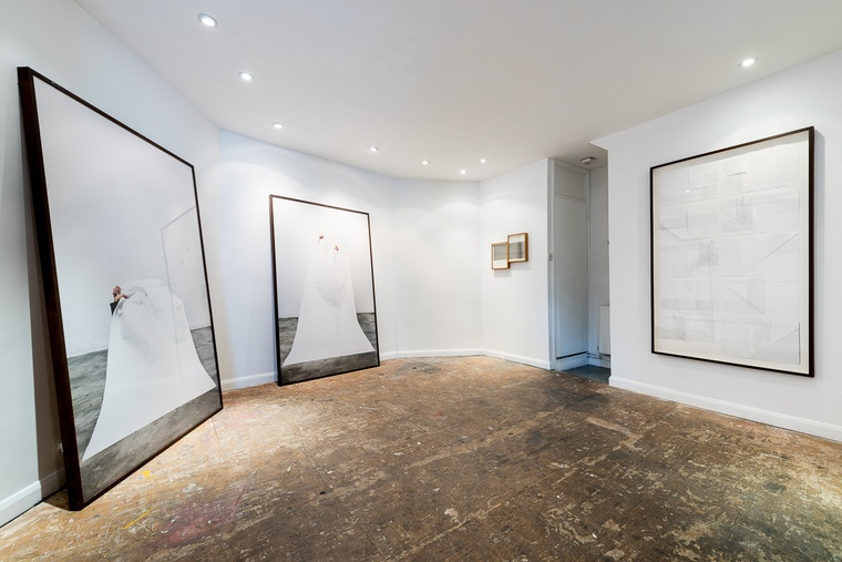 <p>Install shot <em>White Flag&#160;-</em> Carla Chaim</p><p>Upstairs</p>